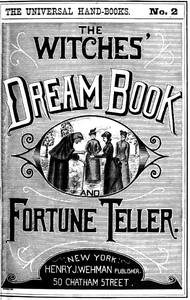 cover for book The Witches' Dream Book; and Fortune Teller