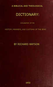 cover for book A Biblical and Theological Dictionary