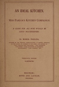cover for book An Ideal Kitchen