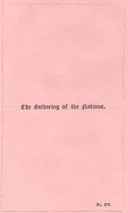 Cover of the book The Gathering of the Nations by Anonymous