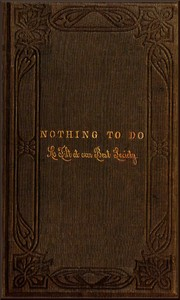 cover for book Nothing to Do