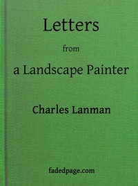 cover for book Letters from a Landscape Painter