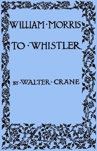 cover for book William Morris to Whistler