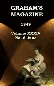 cover for book Graham's Magazine, Vol. XXXIV, No. 6, June 1849