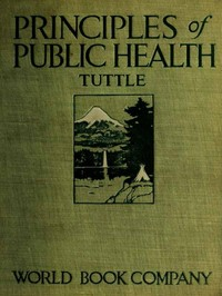 Cover of the book Principles of Public Health by Thos. D. Tuttle