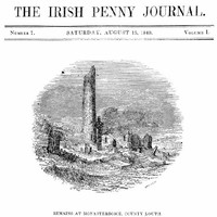 cover for book The Irish Penny Journal, Vol. 1 No. 7, August 15, 1840