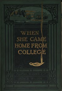 cover for book When She Came Home from College