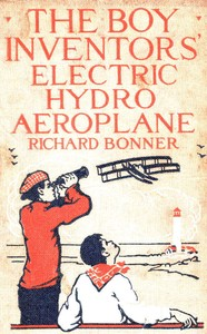 cover for book The Boy Inventors' Electric Hydroaeroplane