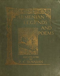 cover for book Armenian Legends and Poems