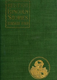 cover for book Best Lincoln stories, tersely told