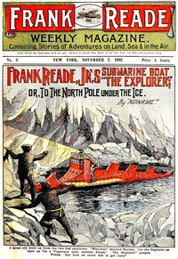 cover for book Frank Reade Jr.'s Submarine Boat