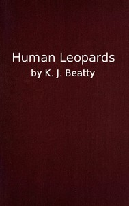 cover for book Human Leopards