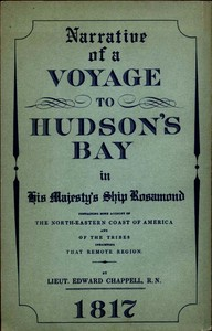 cover for book Narrative of a Voyage to Hudson's Bay in His Majesty's Ship Rosamond