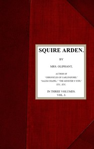 cover for book Squire Arden; volume 1 of 3