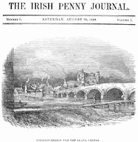 cover for book The Irish Penny Journal, Vol. 1 No. 9, August 29, 1840