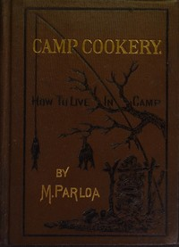 cover for book Camp Cookery