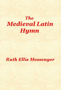 cover for book The Medieval Latin Hymn