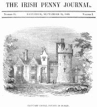 cover for book The Irish Penny Journal, Vol. 1 No. 11, September 12, 1840