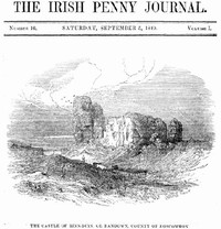 cover for book The Irish Penny Journal, Vol . 1 No. 10, September 5, 1840