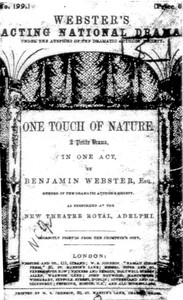 cover for book One Touch of Nature
