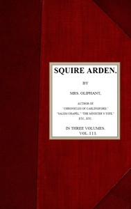 cover for book Squire Arden; volume 3 of 3