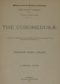 cover for book The Cubomedusæ