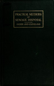 cover for book Practical Methods of Sewage Disposal