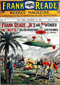 cover for book Frank Reade Jr.'s Air Wonder, The