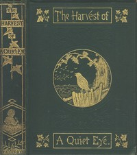 Cover of the book The Harvest of a Quiet Eye by John Richard Vernon