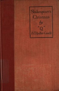 cover for book Shakespeare's Christmas and other stories
