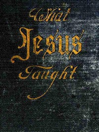 cover for book What Jesus Taught
