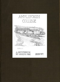 cover for book Ampleforth College; A Sketch-Book