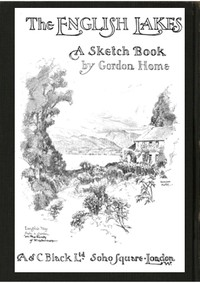 cover for book The English Lakes; A Sketch-Book