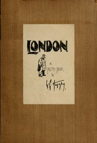 cover for book London; A Sketch-Book
