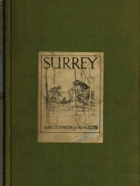 Cover of the book Surrey; A Sketch-Book by R.S. (Robert Sargent) Austin