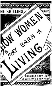 cover for book How Women May Earn a Living