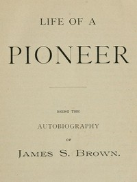 cover for book Life of a Pioneer