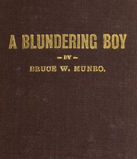cover for book A Blundering Boy