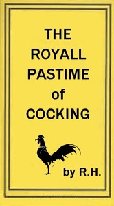 cover for book The Royal Pastime of Cock-fighting