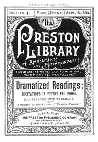 cover for book Dramatized Readings: Recitations in Poetry and Prose
