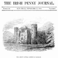 cover for book The Irish Penny Journal, Vol. 1 No. 20, November 14, 1840
