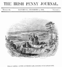 cover for book The Irish Penny Journal, Vol. 1 No. 23, December 5, 1840