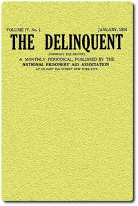 cover for book The Delinquent (Vol. IV, No. I), January, 1914