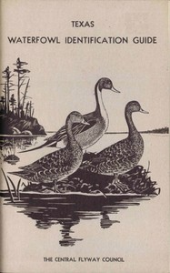 cover for book Texas Waterfowl Identification Guide