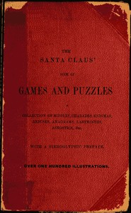 Cover of the book The Santa Claus' Book of Games and Puzzles by John H. Tingley