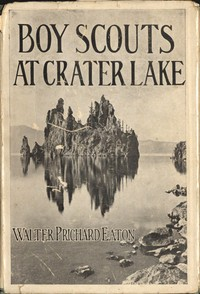cover for book Boy Scouts at Crater Lake