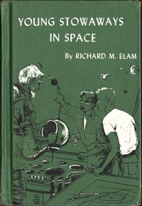 cover for book Young Stowaways in Space
