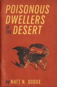 cover for book Poisonous Dwellers of the Desert