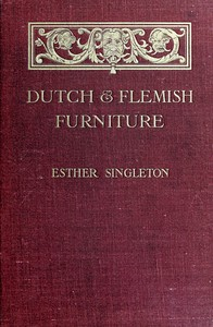 cover for book Dutch and Flemish Furniture