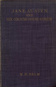 cover for book Jane Austen and her Country-house Comedy